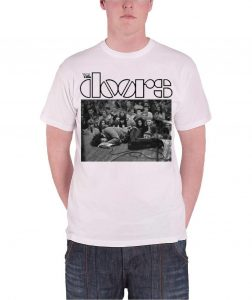 The Doors Tee about Jim Morrison collapsed, obssessing picture
