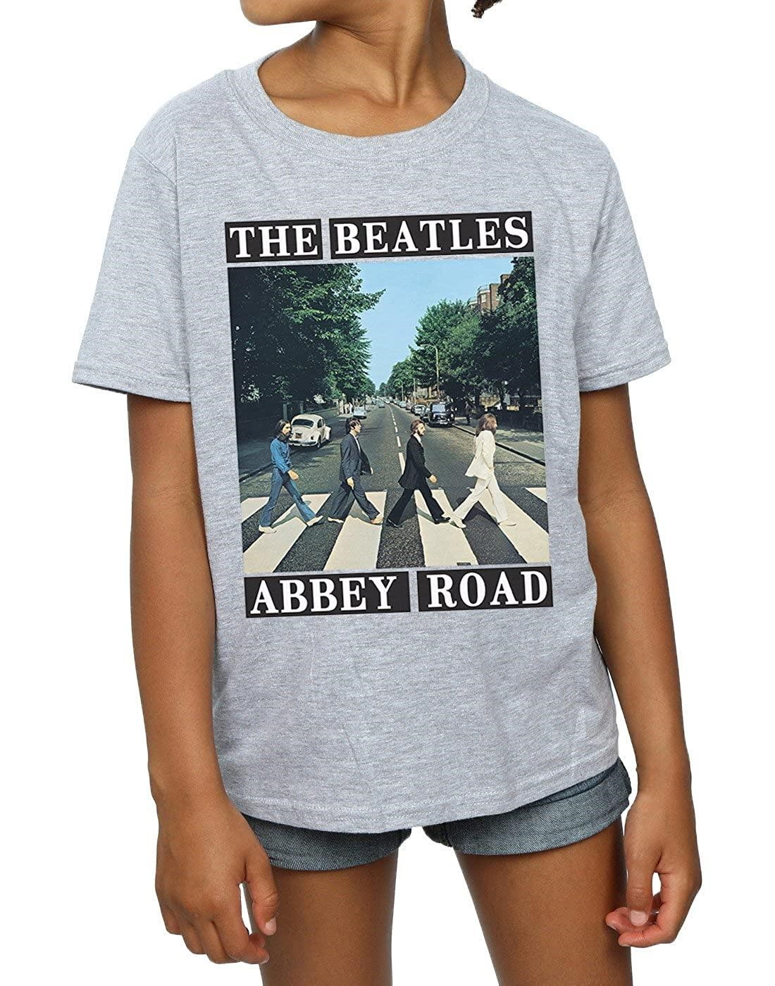 T shirt about abbey road album cover of the beatles