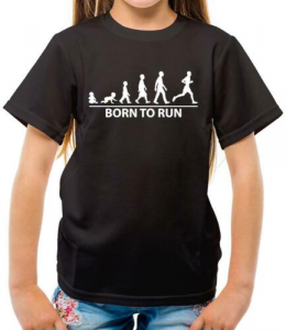 Runner Evolution Tee, one of 10 Awesome Race Participant Shirts