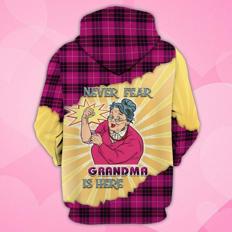 Granny Loopy Tunes Never Fear Grandma is Here of Trends store 3d printed
