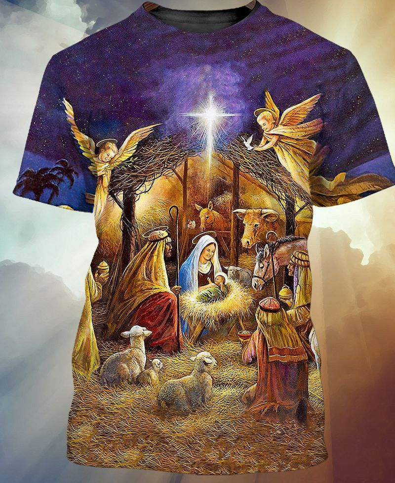 Jesus was born on Christmas day