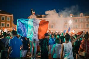 The French celebrate bastille day