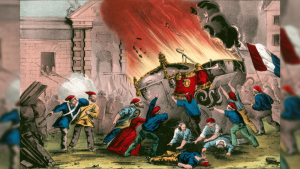A Tricolor Flag appeared in the Storming of the Bastille in 1789