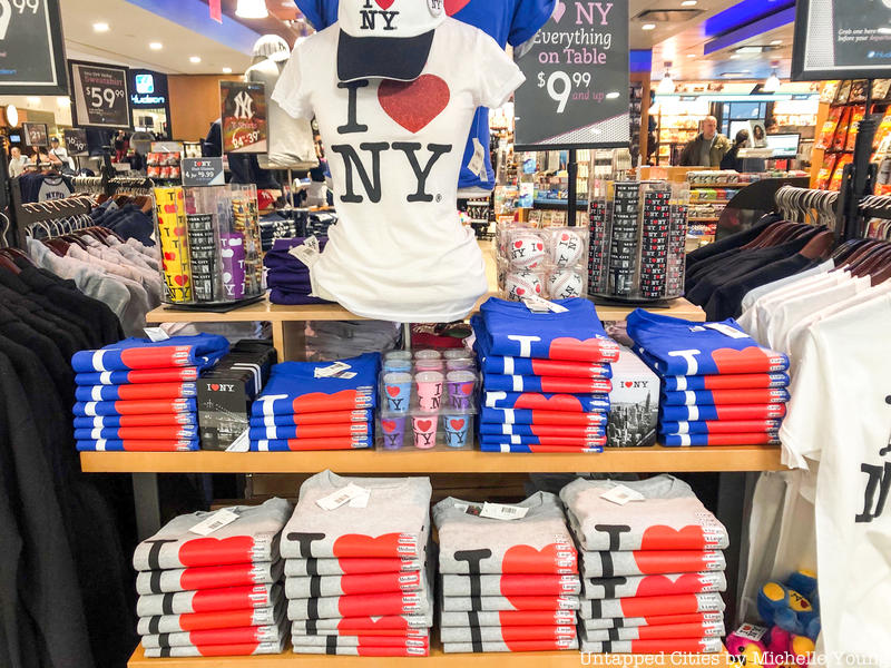 I love new york shirt become popular and must have souvenir