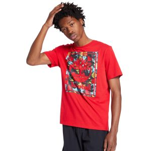 Red Tree of Life design of Chinese New year T shirt