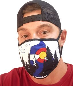 Colorado mask for Coloradans to express love to hometown