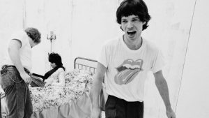 Lips and Tongue logo is inspired by Mick Jagger Rolling Stone member