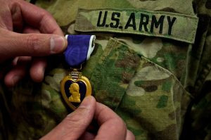 the United States Army Purple Heart Medal