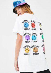 Smiley Face T-shirt is a global brand