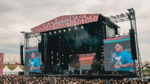 Lollapalooza festival is held annually in Chicago, Illinois