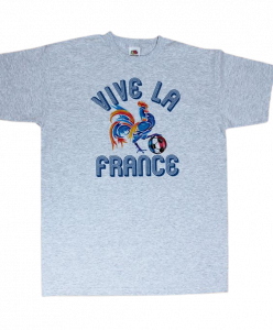 The Gallic Rooster Football Vive La France T shirt
