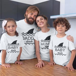 Mom dad and kid t shirt you'd love for this parents' day