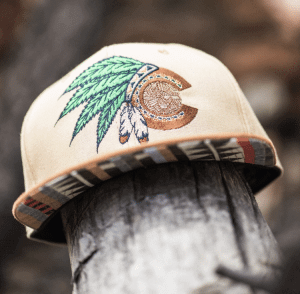 One-of-a-kind Native weed Colorado hat