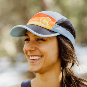 Perfect Colorado hat for a sunny day with a smiling girl