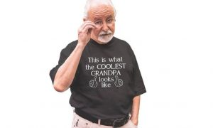 This is your best choice about looking for the senior citizen shirt.
