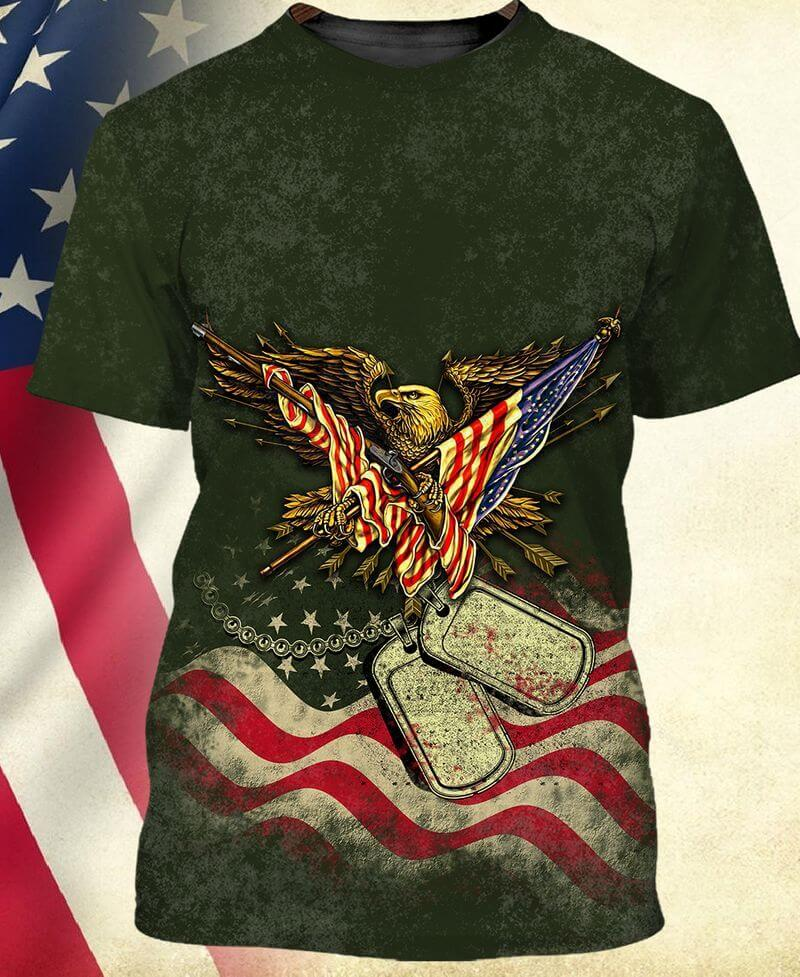 Another American Eagle T shirt for Veterans of Trends Store