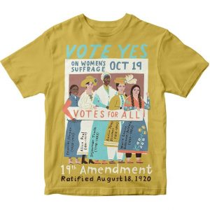 Happy women's equality day t shirt you have to own.