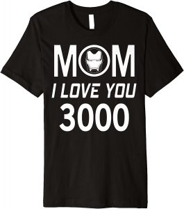 Avengers Endgame mom I love you 3000 Mom and Dad T Shirt For parents Day Mom and Dad T Shirt For parents Day