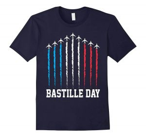 The cool Paris T-Shirts crush you for Bastille Day