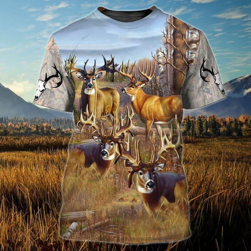 The best colorado t-shirt with deers' beauty.