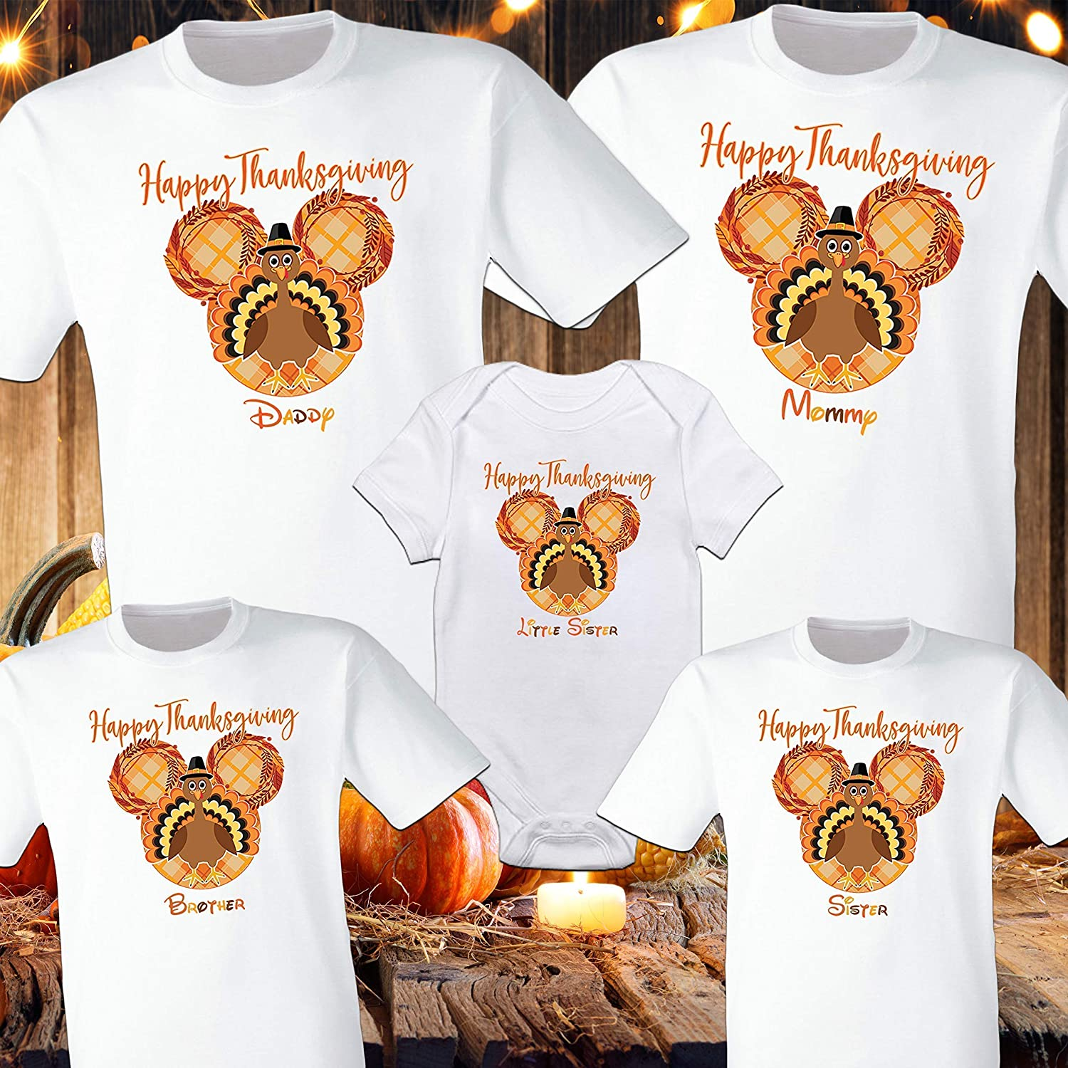 Thanksgiving T-shirts reflect your style