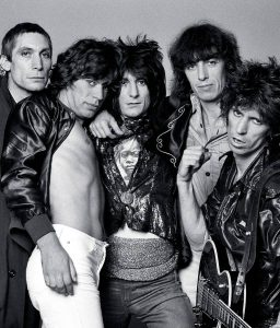 classic rock band The Rolling Stones member image