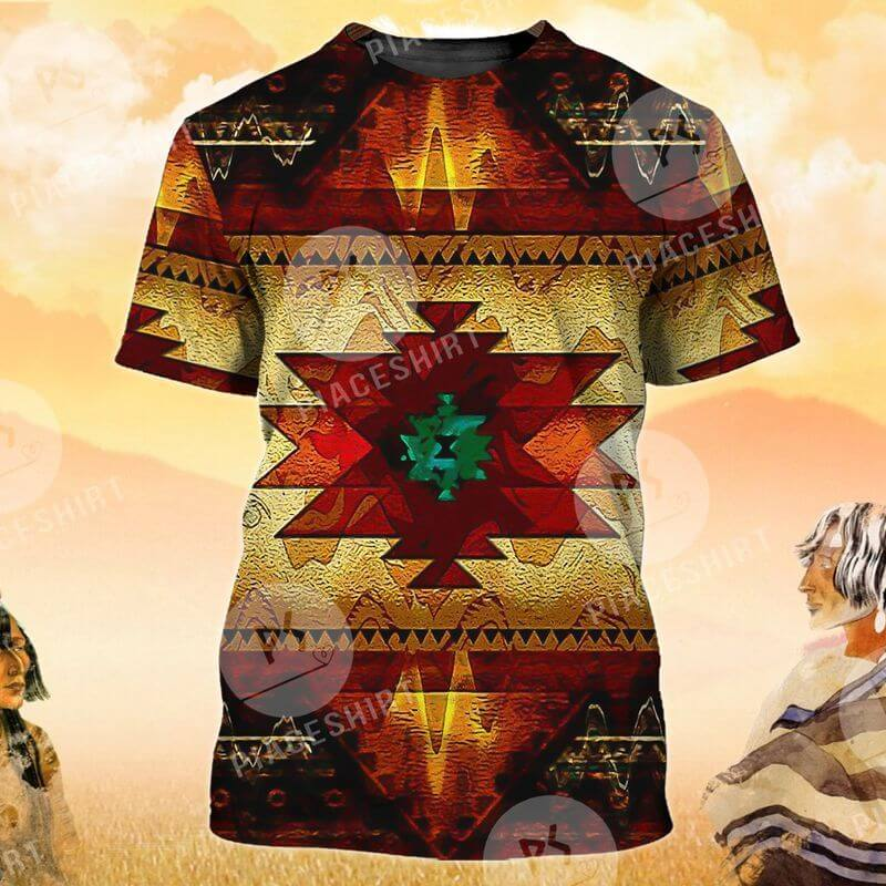 The native American print t shirt is the best gift for your friends.