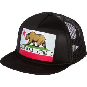 Wear the California hat to show the love with Grizzly Bear