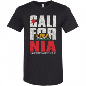California t-shirt is the best gift for visitors.