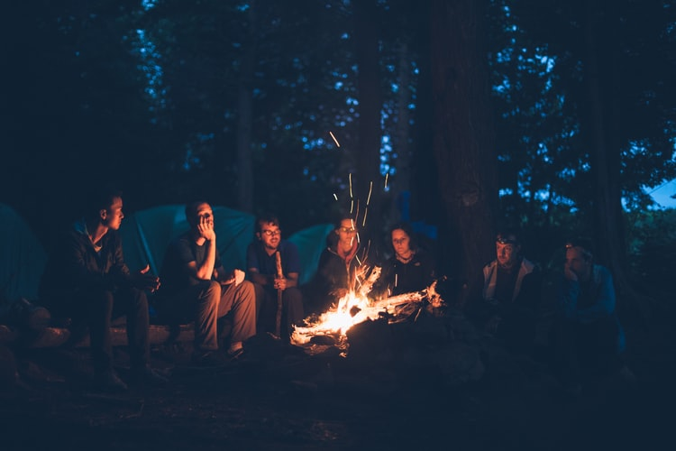 CAMPING WITH FRIENDS THUMBNAIL