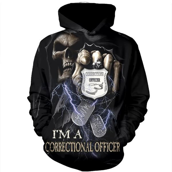 A Corrections correctional officers First Responder hoodie