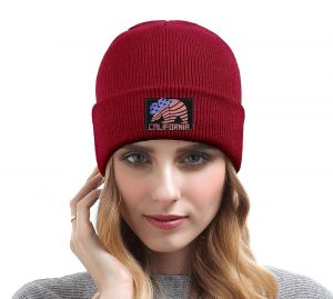 Be fashionable on cold days with the California hat!