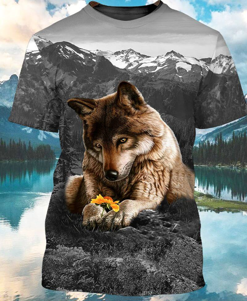 The cute wolf indigenous peoples day shirt