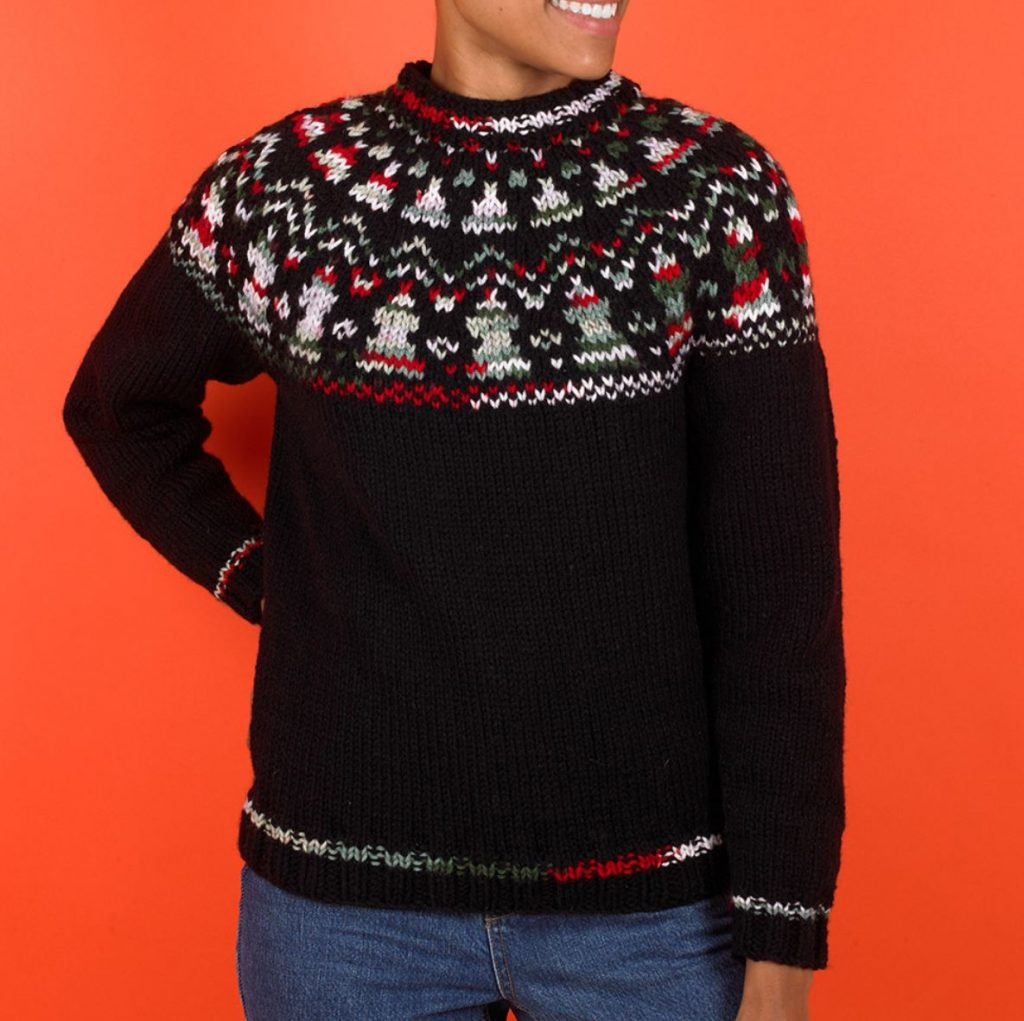 Lovely Christmas winter knits