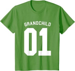 National day Grandparents t-shirts for grandchild's outfit.