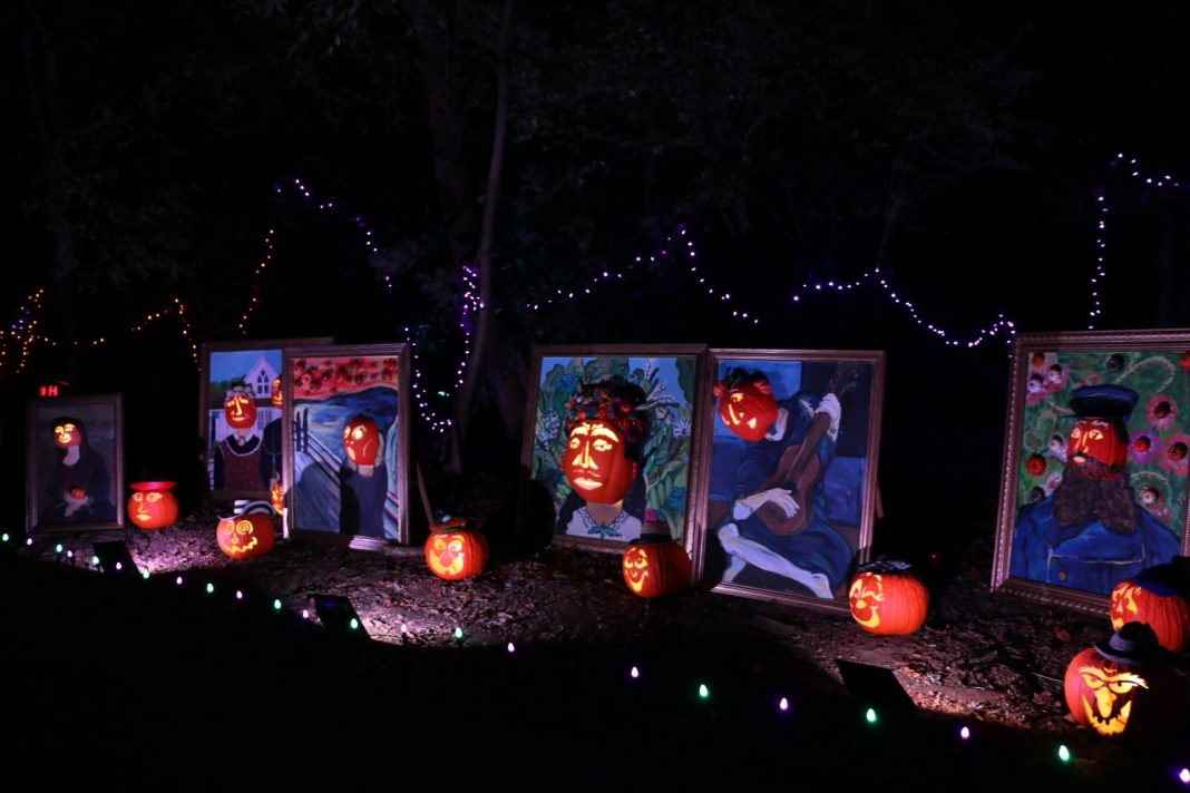 The tickets for the Great Pumpkin Glow are available online at the official website