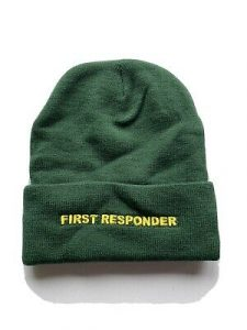 Keep warm with this unique First Responder Hat!