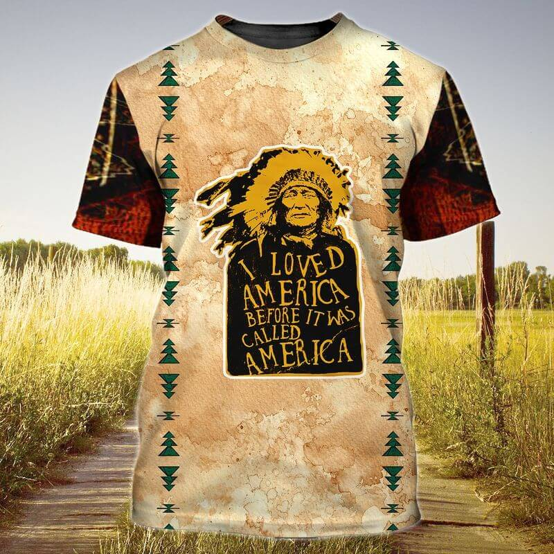 The best Indigenous Day T-Shirt for Men for a vintage beauty.