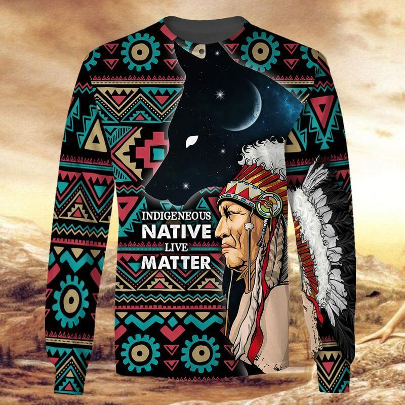 The best 3D indigenous peoples day shirt