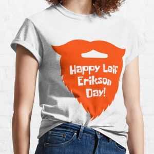 Let's celebrate with this happy leif erikson day shirt