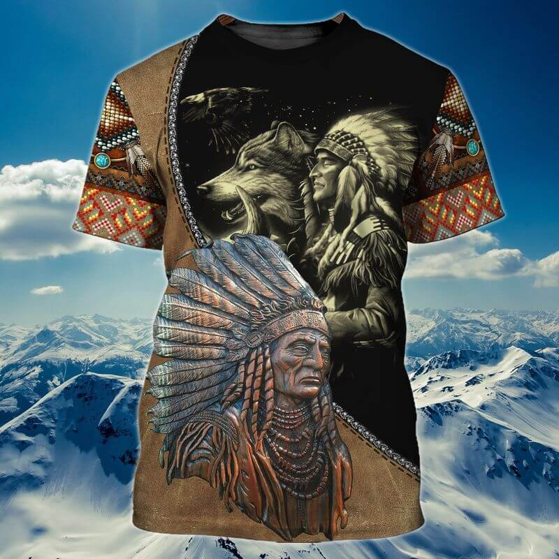 Native Indigenous People American Indian T Shirt