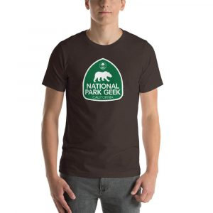 The best California t-shirt to go to National park geek!