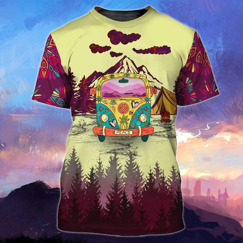 Top 10 camping t-shirts below will make you fall in love.