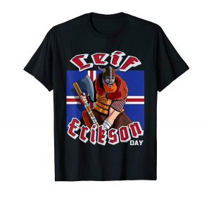 The Leif Erikson T Shirt is your best choice.