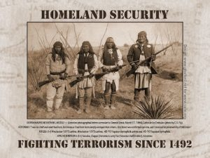 Native resistance to the US government's direct repression of Geronimo