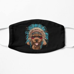 Upgrade your style with native american indian dog mask