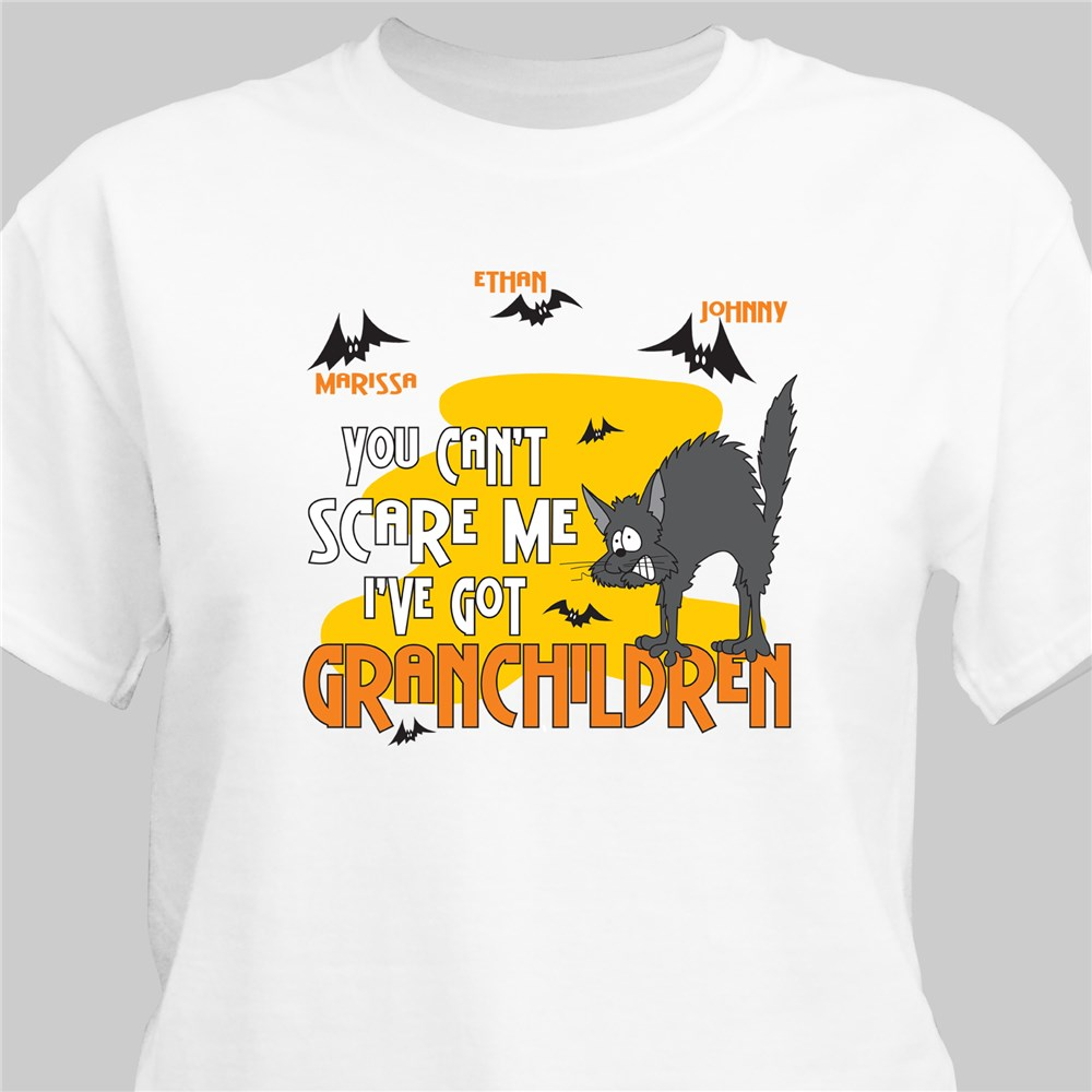 Personalized Halloween T shirt For Grandparents