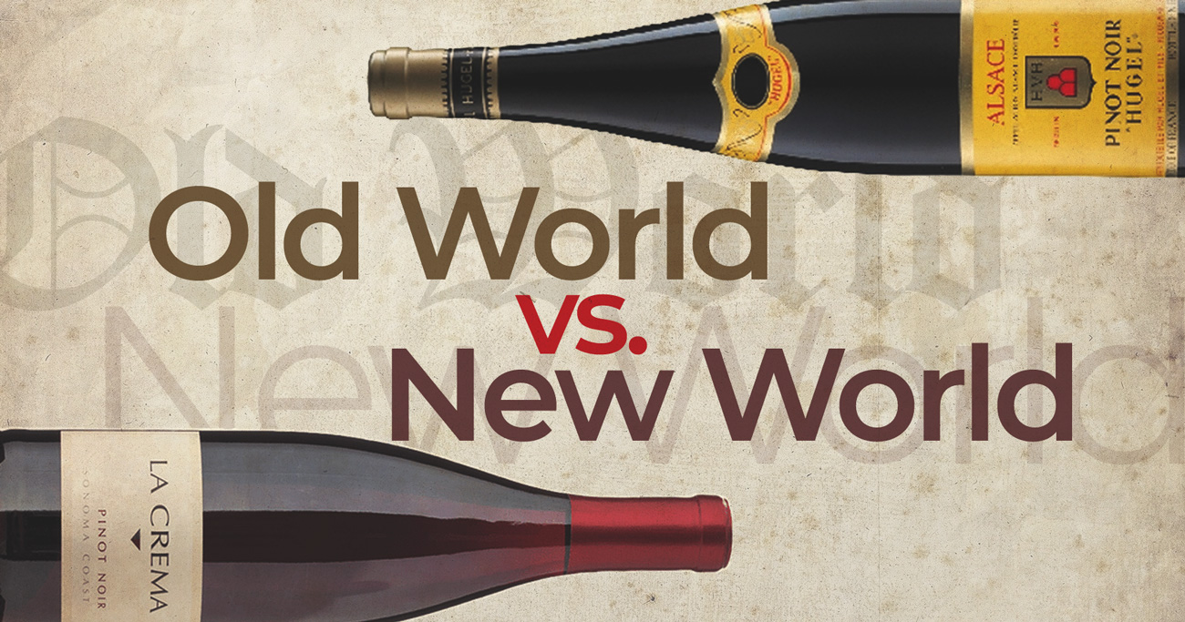 Wines of the Old World will give you a chance to taste different types of wine