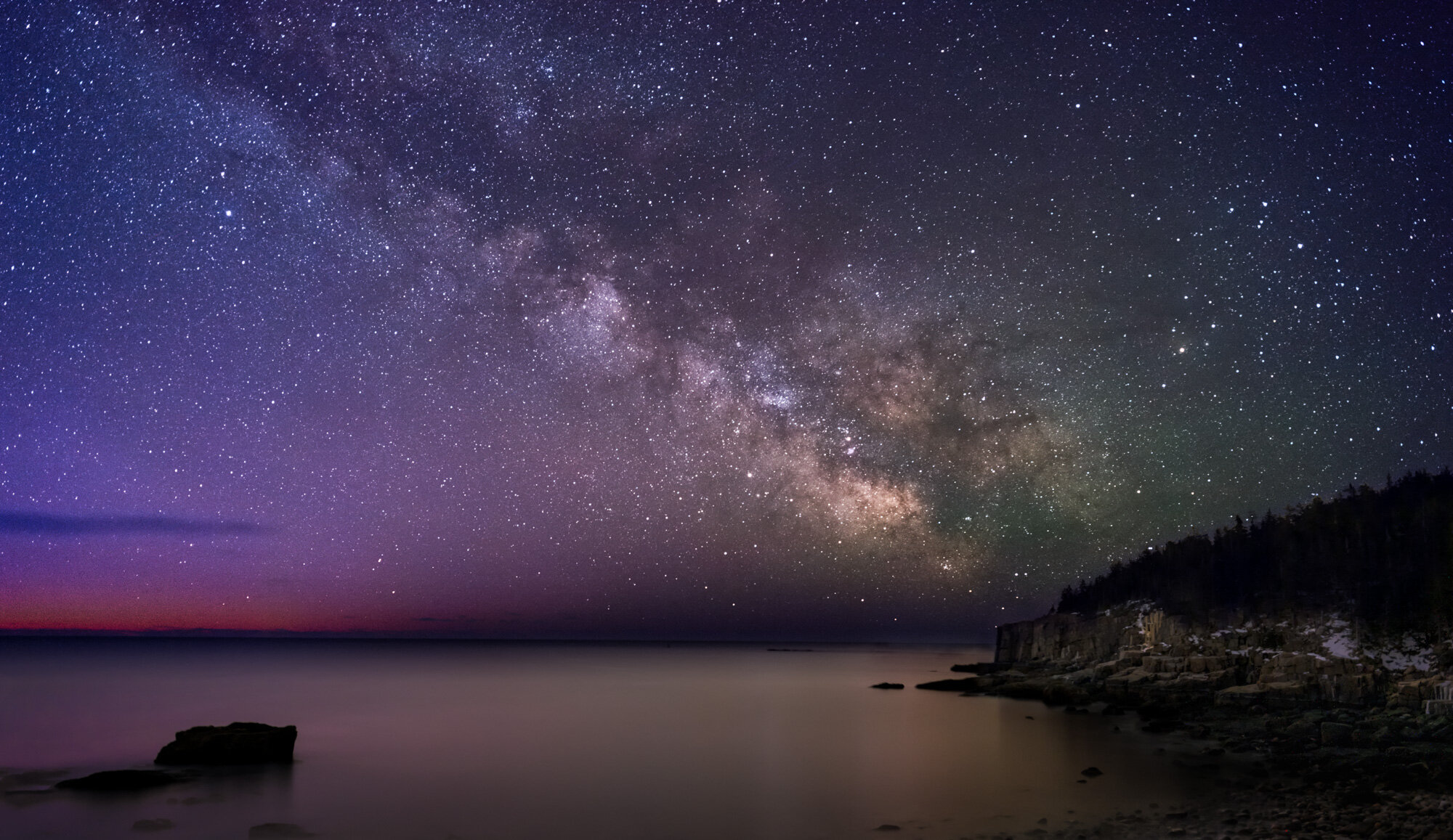 Schedule Of The Acadia Night Sky Festival