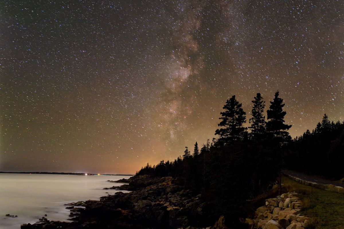 the Acadia Night Sky Fest is held in the Acadia National Park
